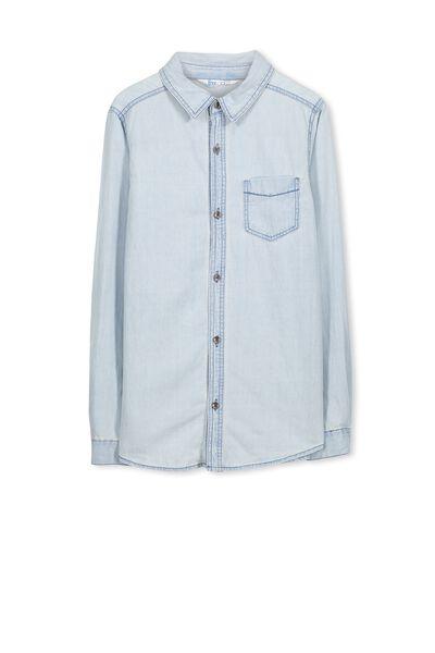 Chuck Ls Shirt, CHAMBRAY