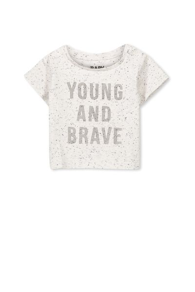 Michael Short Sleeve Tee, SUMMER MARLE/YOUNG AND BRAVE
