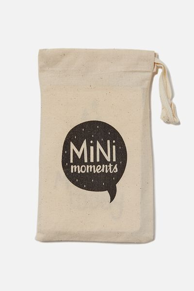 Mini Moment Cards, BLACK/WHITE