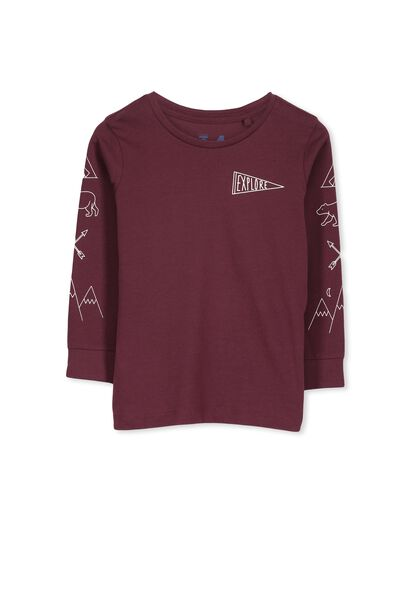 Tom Ls Tee, WINTER GRAPE/EXPLORE