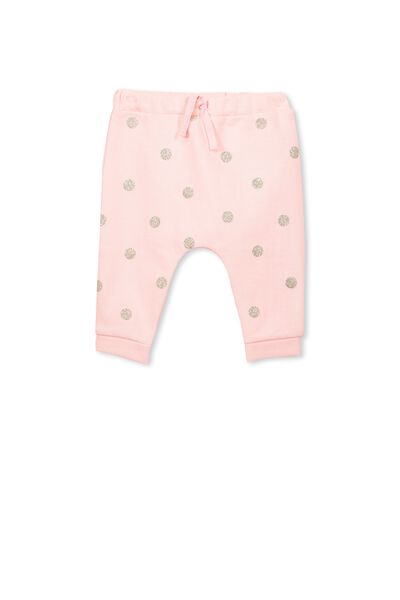 Shelby Trackpant, POWDER PINK/SPOT