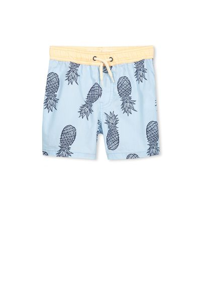 Murphy Swim Short, YOLO BLUE/PINEAPPLES