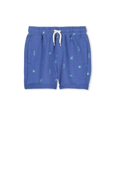 Henry Slouch Short, ELECTRIC EEL/MIXED SURF
