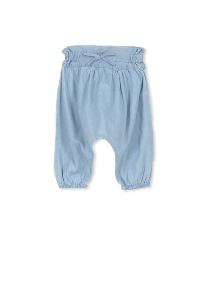 Phoebe Slouch Pant, CHAMBRAY