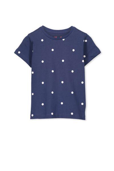 Max Short Sleeve Tee, CAPTAIN BLUE/SPOT