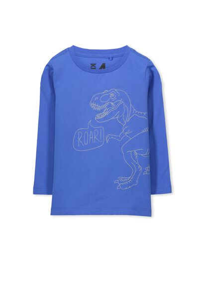 Tom Ls Tee, YARD BLUE/ROAR