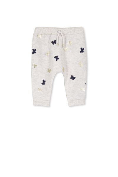 Shelby Trackpant, CLOUD MARLE/BUTTERFLY
