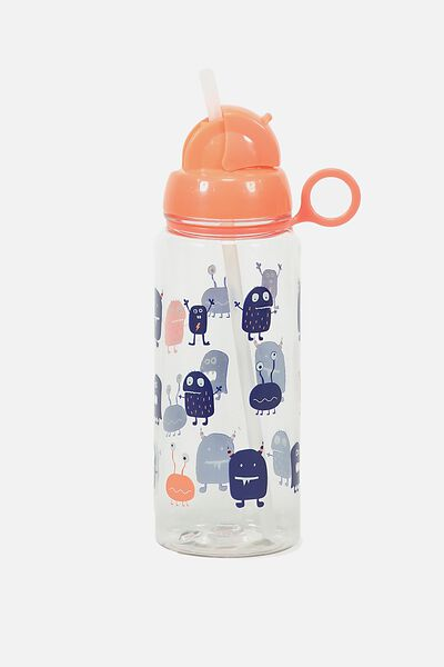 Spring Drink Bottle, SILLY NAVY MONSTER