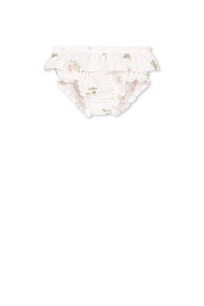Mini Bloomer, VANILLA/LITTLE BUTTERFLIES