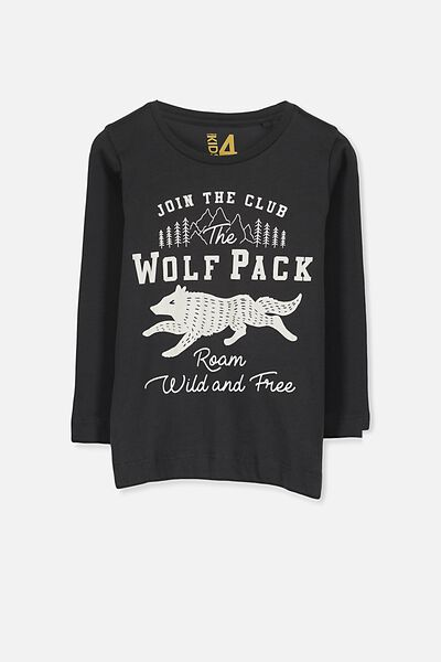 Tom Ls Tee, PHANTOM/WOLF PACK