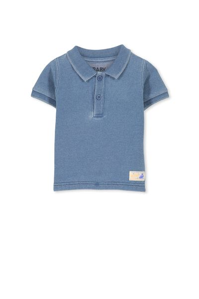 Hugo Polo Tee, LT BLUE INDIGO