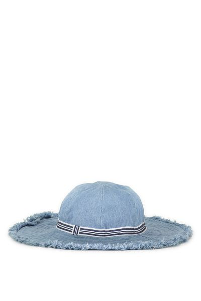 Sun Hat, CHAMBRAY