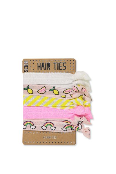 Knot Messy Hairties, LEMONS
