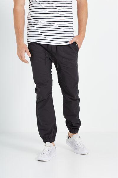 Customised Drake Cuffed Pant, WASHED NAVY #24