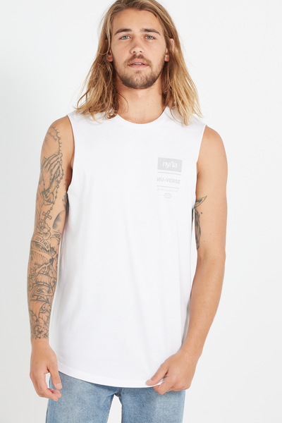 Tall Scoop Muscle, WHITE/NY/LA