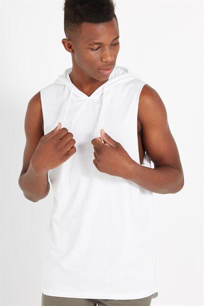 Hustle Muscle, WHITE