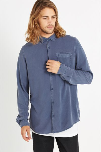 91 Shirt, INDIGO ACID