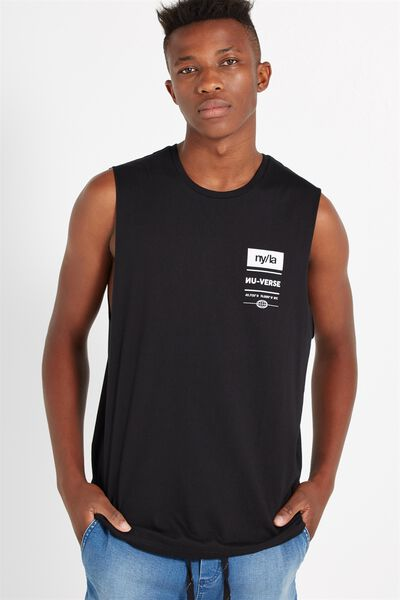 Tbar Muscle, BLACK/NY/LA NU