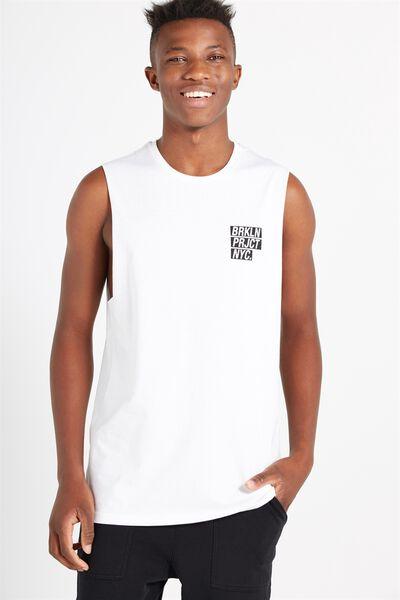 Tbar Muscle, WHITE/BRKLN PRJCT NYC
