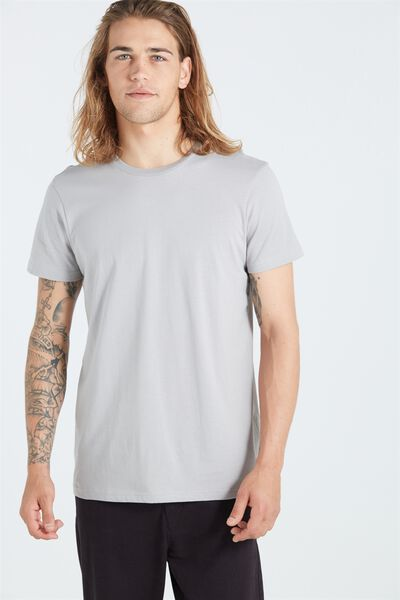 The Staple Tee, OVERCAST  GREY