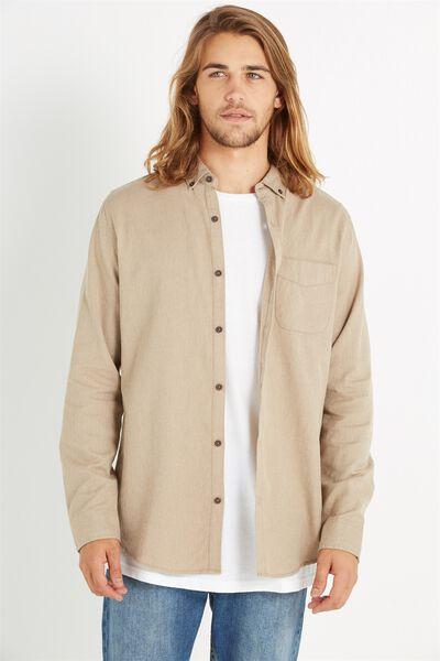 Brunswick Shirt 3, NATURAL TWIST