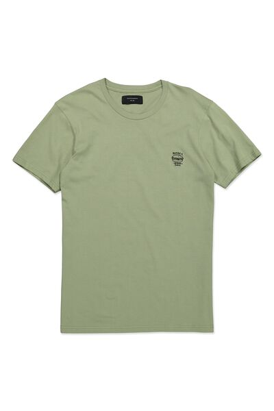 Icon Tee, LAZY GREEN/BURGER DAZE