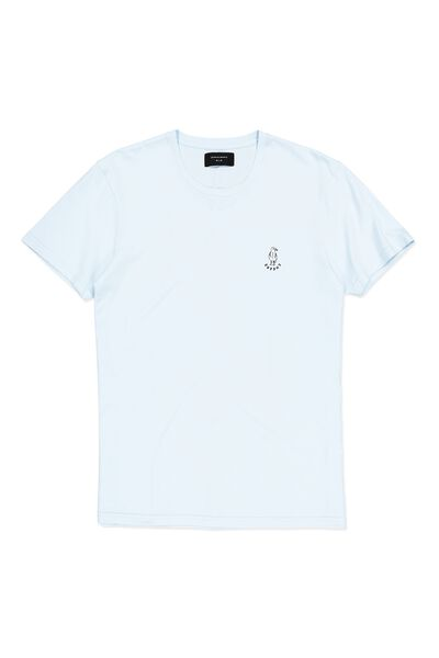 Icon Tee, BLUE MIST/CHEERS