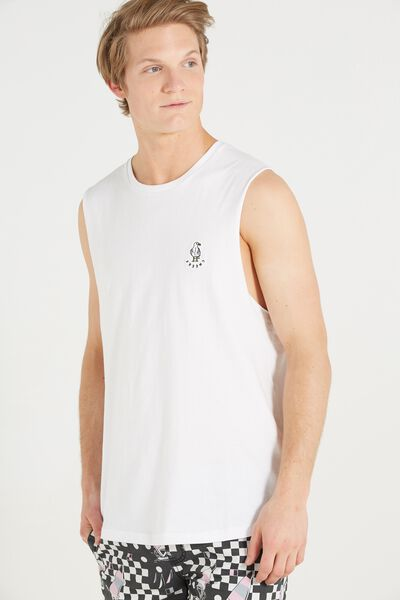 Staple Muscle, WHITE/CHEERS