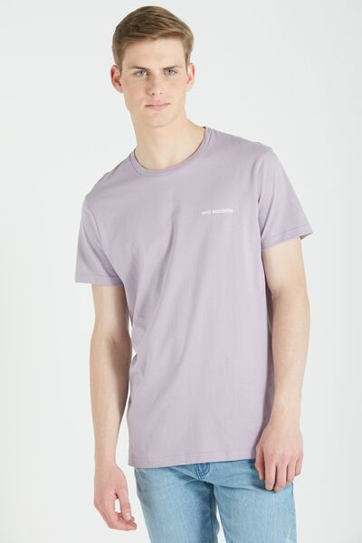 Ae Droptail Tee (Slim Fit), HAPPY LAVENDER/ANTI SOCIALITE