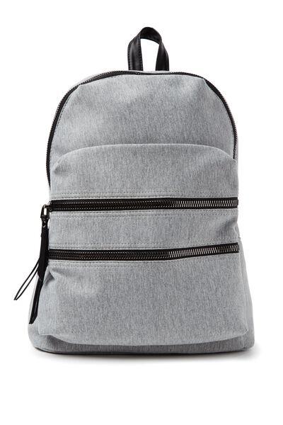 Berlin Backpack, GREY MARLE