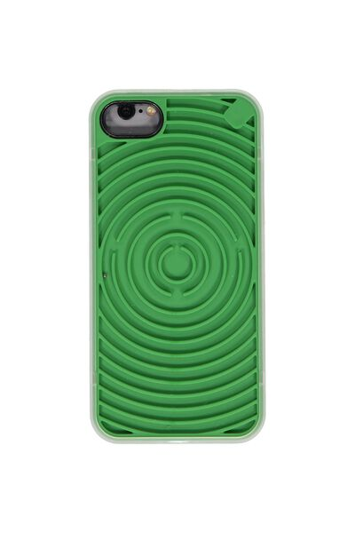 Novelty Phone Cover 7, 8, GREEN MAZE