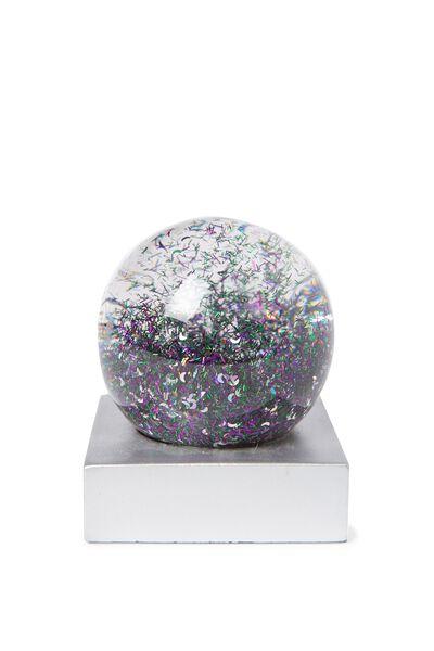 Glitter Globe, SILVER