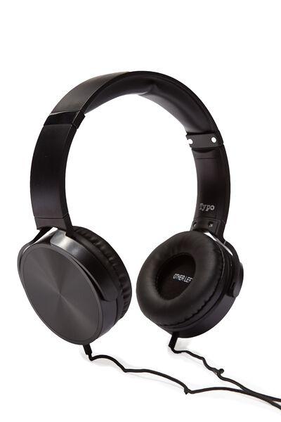 Reverb Headphones, BLACK