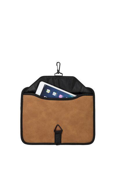Tablet Organiser, TAN PERFORATED