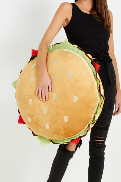 Giant Burger Cushion, BURGER
