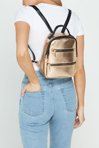 Valencia Backpack, ROSE GOLD