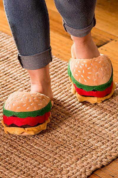 Novelty Slippers, BURGER