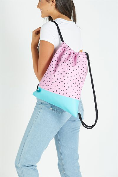 On The Go Backpack, WATERMELON