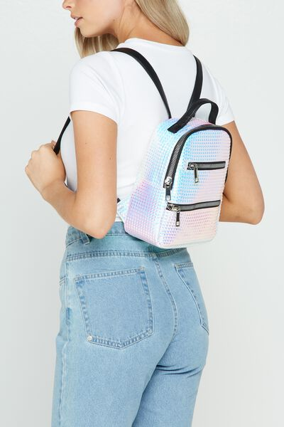 Valencia Backpack, IRIDESCENT PRISM