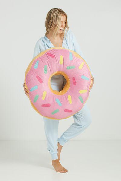 Giant Donut Cushion, DONUT