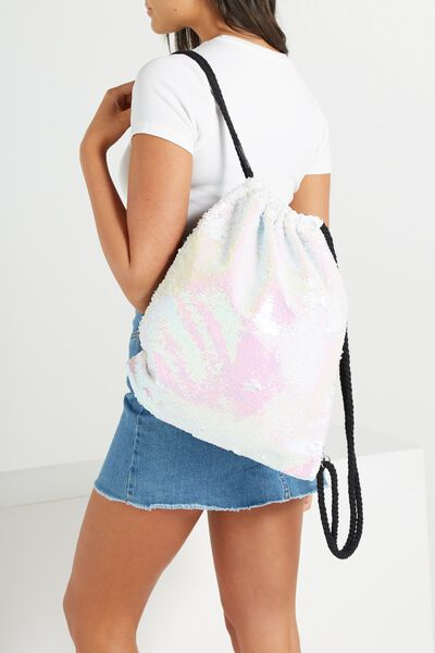 On The Go Backpack, MERMAID SEQUINS