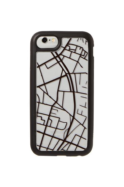 Superior Phone Case Universal 6,7,8, MAP GRID