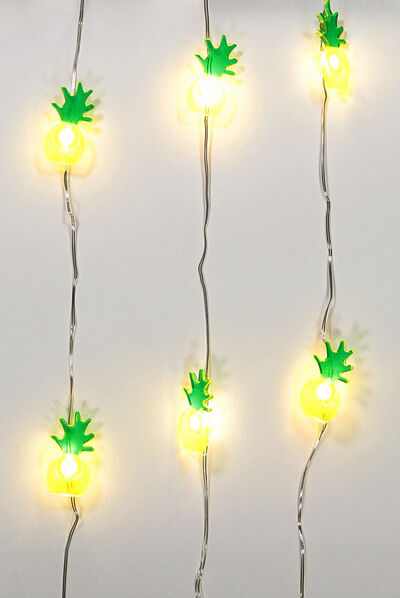 1.5M Novelty Twinkle Lights, PINEAPPLES