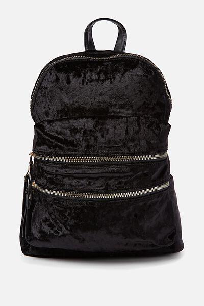 Berlin Backpack, BLACK VELVET