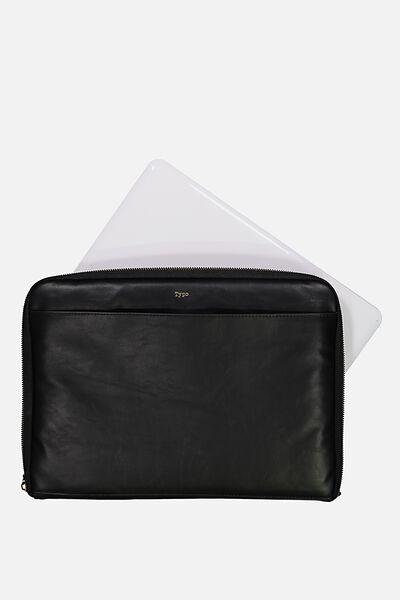Buffalo 13 Inch Laptop Cover, BLACK