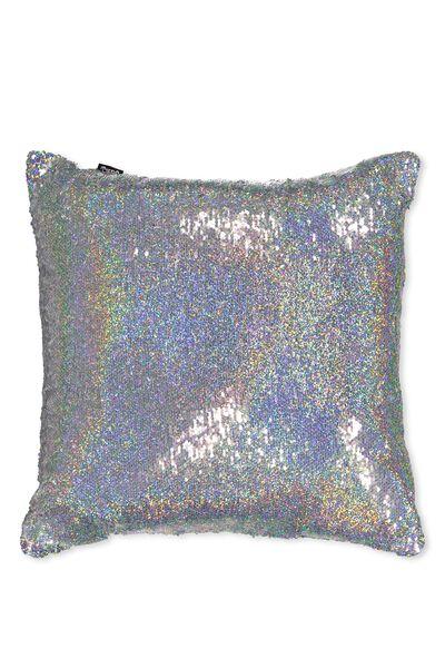 Get Cushy Cushion, UNICORN SEQUIN
