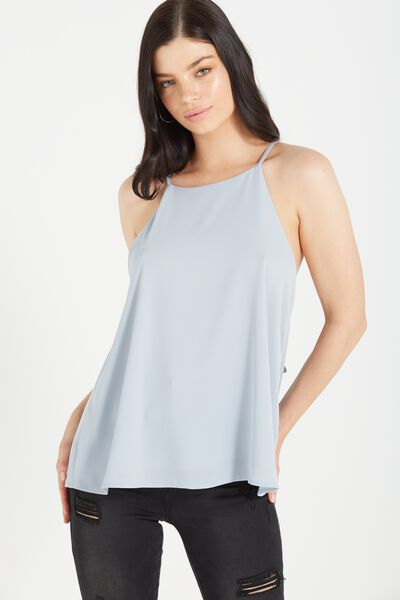 Carrie Fashion Cami, BLUE ICE