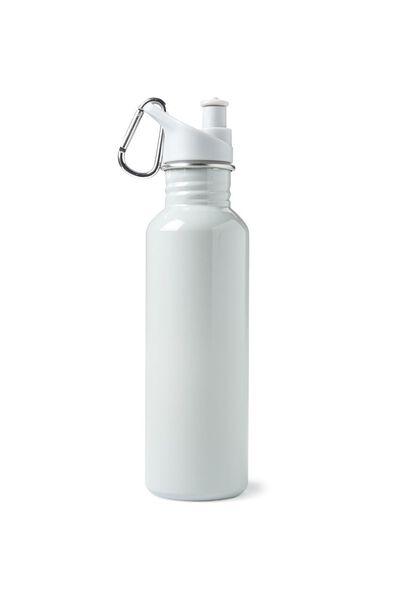 Stainless Steel Drink Bottle, GREY/GREY