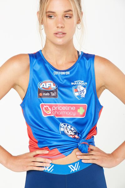 Aflw Training Tank, WESTERN BULLDOGS