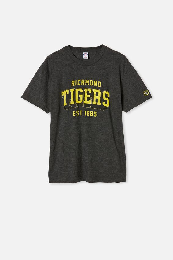 Afl Mens College Block T-Shirt, RICHMOND